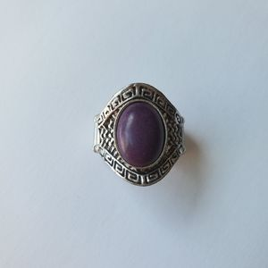 3/$10 Paparazzi Purple Oval Ring